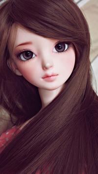 Fluorescent Pink Cute Doll Live wallpaper (FREE) screenshot 4