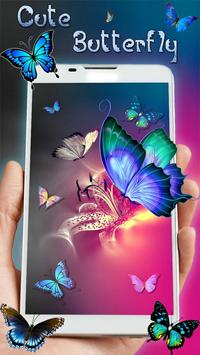 Butterfly Colorful Live wallpaper (free) screenshot 2