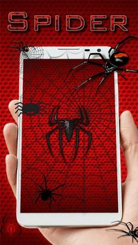 Animated Wild Spider Live Wallpaper poster