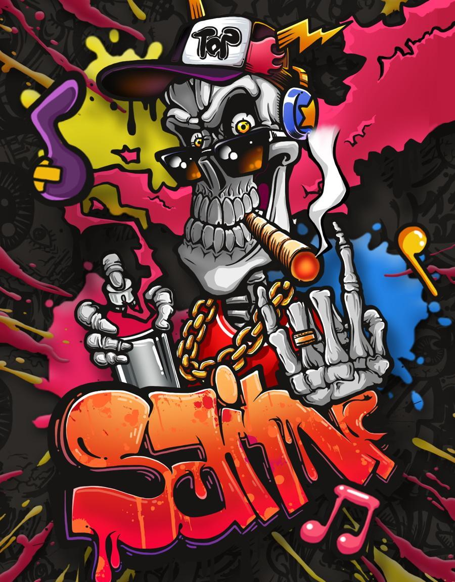 Graffiti Skull For Android APK Download