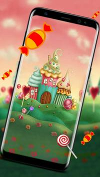 candy house theme & wallpaper apk screenshot