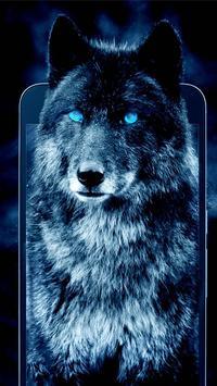 Glow wolf Live Wallpaper screenshot 2