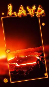 Floor is volcano lava Live Wallpaper screenshot 1