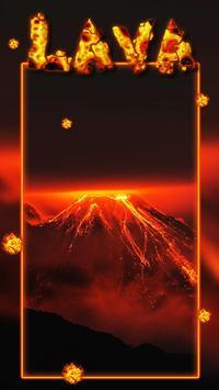 Floor is volcano lava Live Wallpaper screenshot 2
