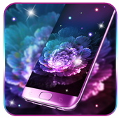 Beautiful Magic Flower Livewallpaper icon