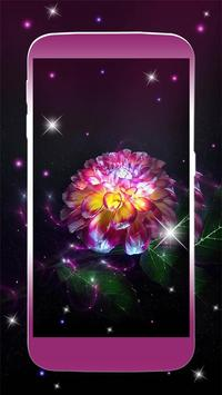 Beautiful Magic Flower Livewallpaper poster