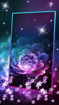 Beautiful Magic Flower Livewallpaper screenshot 1