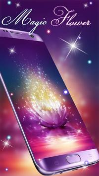 Beautiful Magic Flower Livewallpaper screenshot 2