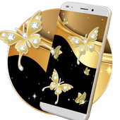Sparkling Butterflies Live Wallpaper icon