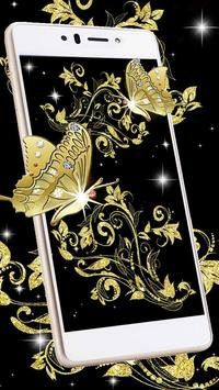 Sparkling Butterflies Live Wallpaper apk screenshot