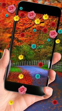 Autumn Leaves Live Wallpaper poster