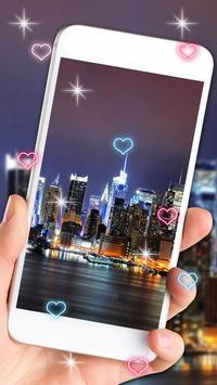 Glowing City Lights Live Wallpaper screenshot 2