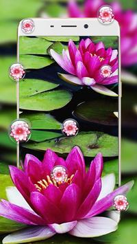 Lotus Flower Bubble Live Wallpaper screenshot 1