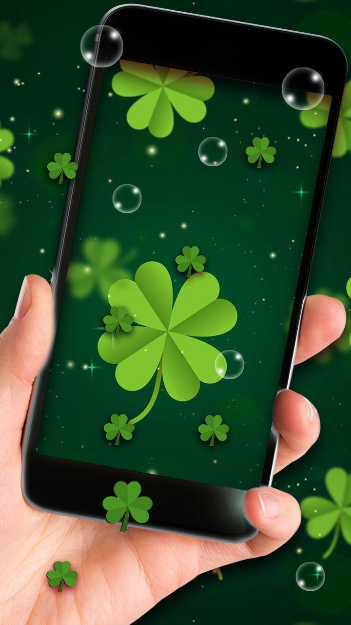 Four Leaf Clover Live Wallpaper For Android Apk Download
