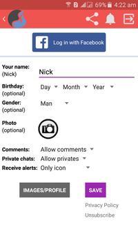 Live Chat Rooms screenshot 1