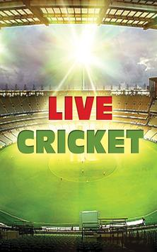 Live Cricket Matches poster