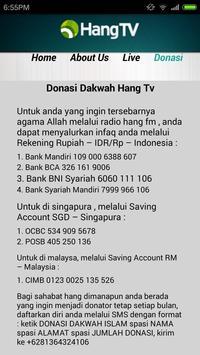 Hang TV apk screenshot