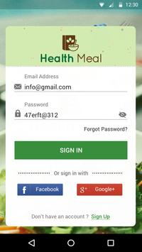 Health Meal (Beta) screenshot 1