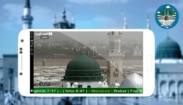 Makkah & Madina Live Streaming apk screenshot