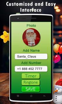 Live Santa Claus Video Call poster
