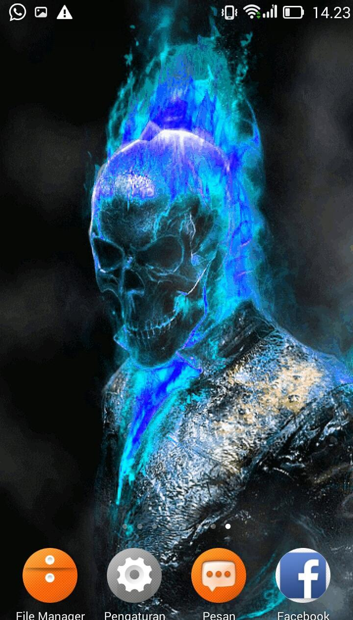 Fire Skull Gif Live Wallpapers For Android Apk Download