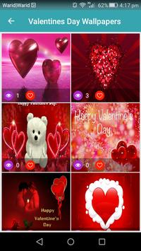 Live Happy Valentines Day Wallpapers 2018 apk screenshot