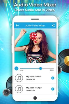 Audio Video Mixer apk screenshot