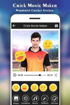 Cricket Photo Video Maker :IPL screenshot 4