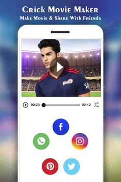 Cricket Photo Video Maker :IPL screenshot 5