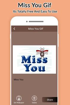 Miss You Gifs Collection 2017 screenshot 1