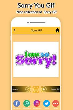 Sorry Gifs Collection 2017 apk screenshot