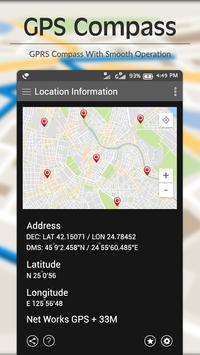 Digital Compass - Live Navigation,GPS Directions screenshot 1