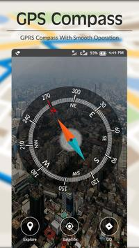 Digital Compass - Live Navigation,GPS Directions screenshot 4