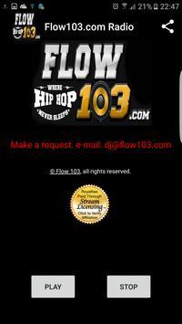 Flow103.com Radio apk screenshot