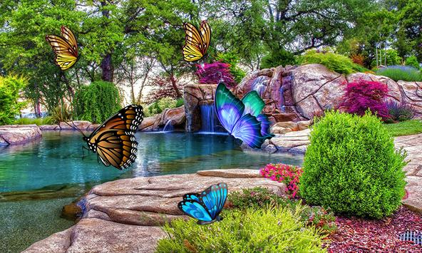 3D Butterfly Live Wallpaper para Android - APK Baixar