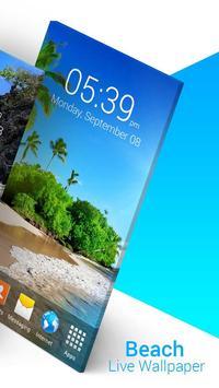 Beach Live Wallpaper screenshot 1