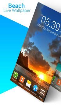 Beach Live Wallpaper screenshot 2