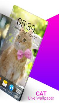 Cat Live Wallpaper screenshot 3