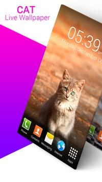 Cat Live Wallpaper poster