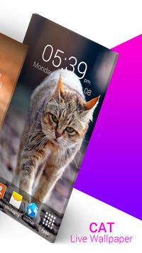 Cat Live Wallpaper screenshot 1