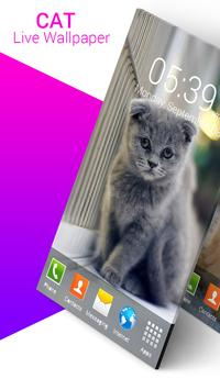 Cat Live Wallpaper screenshot 2