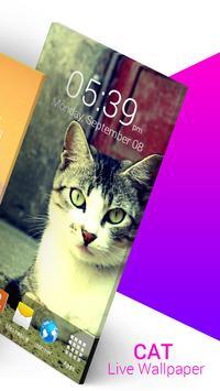 Cat Live Wallpaper screenshot 5