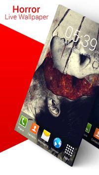 Horror Live Wallpaper screenshot 4