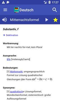 German Dictionary Offline poster