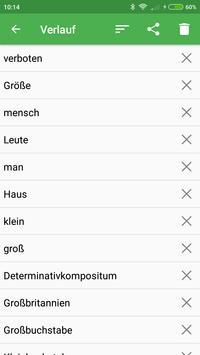 German Dictionary Offline screenshot 2