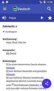 German Dictionary Offline screenshot 3