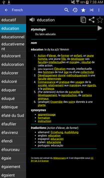 French Dictionary - Offline apk screenshot