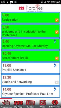 m-libraries Conference screenshot 1