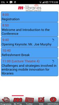 m-libraries Conference screenshot 4