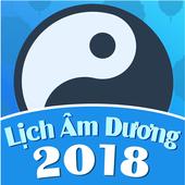 Lich Am, Lịch âm dương, Lịch Việt Nam 2018 أيقونة